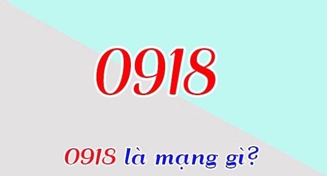 0918 là mạng gì