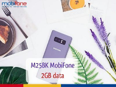 Đăng ký gói M25BK 2GB của MobiFone thoải mái truy cập internet 30 ngày