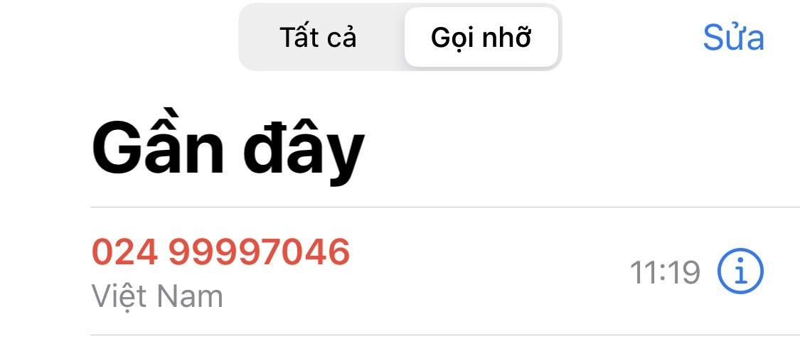 Đầu số 0249 thuộc nhà mạng Gtel