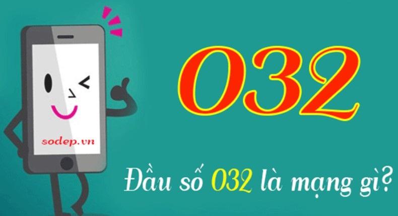 Đầu số 032 thuộc mạng Viettel