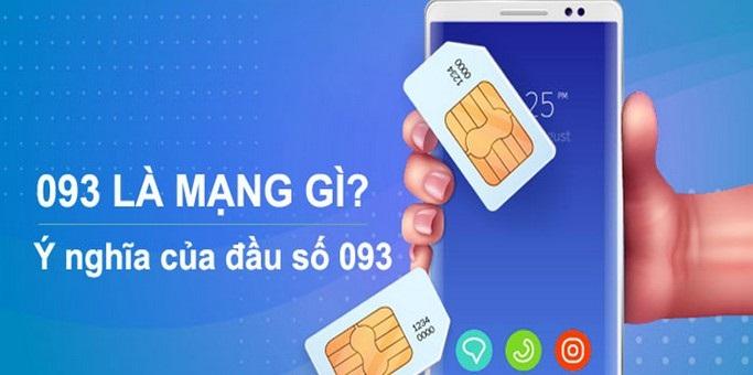 Đầu số 093 thuộc nhà mạng Mobifone