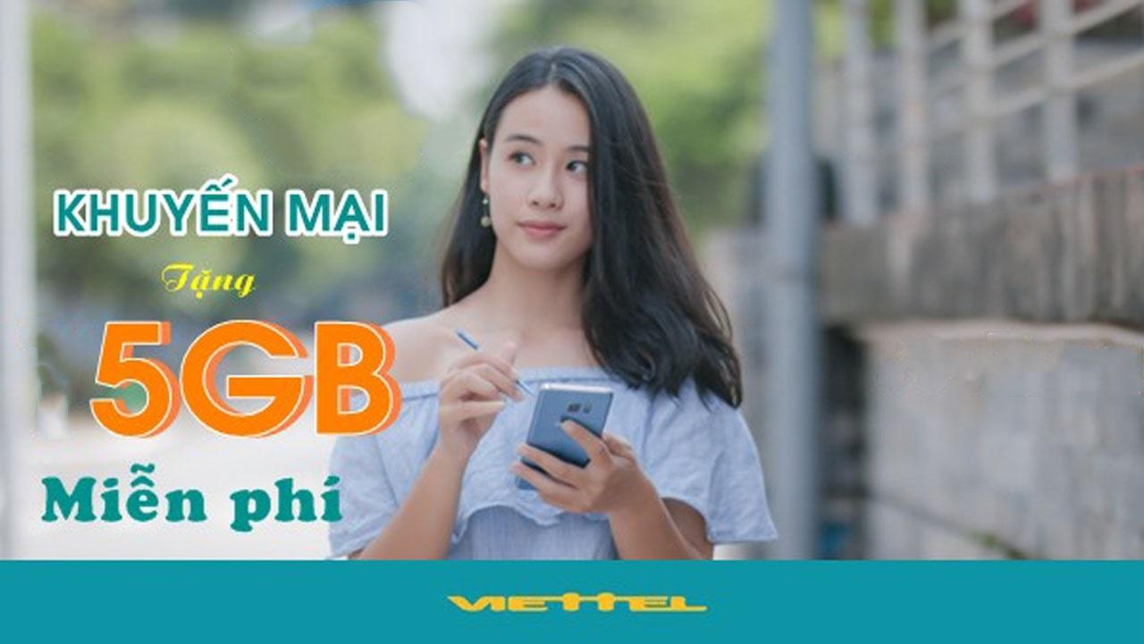 Tặng data miễn phí là chương trình tri ân khách hàng của Viettel